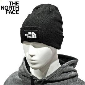 ノースフェイス ニット帽 THE NORTH FACE NF0A3FNT JK3 ブラック(22) DOCKWKR RCYLD BEANIE メンズ ザ・ノース・フェイス 帽子 ニット キャップ ビーニー (CPT)