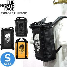 ノースフェイス リュックサック NF0A3KYV THE NORTH FACE TNF BLK ブラック SUMITGLD イエロー ヒューズボックス EXPLORE FUSEBOX S バックパック リュック カバン 鞄 バッグ メンズ通勤 通学 鞄 かばん 大学生 ゼミ ギフト