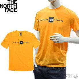 ノースフェイス Tシャツ THE NORTH FACE NF0A3RGM 70M(29) MEN'S Climbing T Shirtイエロー メンズ ザ・ノース・フェイス Tシャツ 半袖 クルーネック ギフト (CPT)
