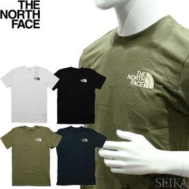 ノースフェイス Tシャツ 半袖 THE NORTH FACE M SIMPLE DOME TEE NF0A5A3O (56)TNF WHITE ホワイト (56)TNF BLACK ブラック (58)BURNT OLIVE GREEN グリーン (59)AVIATOR NAVY ネイビー メンズ ハーフドーム ロゴ Tシャツ 薄手 アパレル ギフト (CPT)