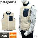 パタゴニア PATAGONIAフリース ベスト 23048 NAT(51) Men's Classic Retro-X Vestメンズ レトロXベスト アウター 袖な…