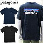パタゴニアPATAGONIA38512Tシャツ半袖ホワイトブラックグレーネイビーメンズロゴTシャツアパレル(CPT)