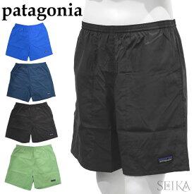 パタゴニア ハーフパンツ PATAGONIA 58046 (71)BYBL (72)SNBL (73)INBK (74)TSGE メンズ・バギーズ・ライト Men's Baggies Lights SLIMFITブルー ネイビー ブラック グリーン メンズ ロゴ ショートパンツ アパレル ギフト (CPT)