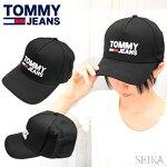 トミージーンズTOMMYJANES【3】AM0AM04968002BKブラックキャップCAP帽子アパレルメンズレディース父の日ゴルフ