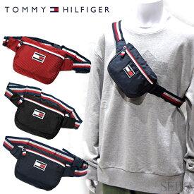 トミーヒルフィガー TOMMY HILFIGER ボディバッグ Excusion TC090EX9 TH-826 ウエストバッグ メンズ レディース ユニセックス アウトドア 鞄 かばん (CPT) 父の日