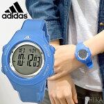 アディダスadidasスプラングADP3216ブルー時計腕時計メンズレディースキッズ子供