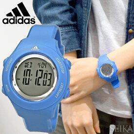アディダス adidas スプラングADP3216 ブルー時計 腕時計 メンズ レディース キッズ 子供