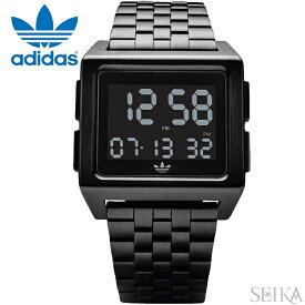アディダス adidas ARCHIVE_M1 (41)Z01-001-00 Z01001-00 時計 腕時計 メンズ レディース ブラック メッシュ デジタル