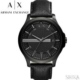 アルマーニエクスチェンジ ARMANI EXCHANGE AX2400時計 腕時計 メンズ ブラック レザー クリスマス プレゼント