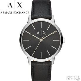 アルマーニエクスチェンジ ARMANI EXCHANGE AX2703時計 腕時計 メンズ ブラック レザー クリスマス プレゼント