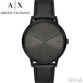 アルマーニエクスチェンジ ARMANI EXCHANGE AX2705時計 腕時計 メンズ オールブラック レザー クリスマス プレゼント