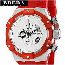 【クリアランス】【66】ブレラ オロロジ BRERA OROLOGI スーパースポルティーボ SupersportivoBRSSC4905G メンズ 時計ホワイト×レッド レッド ラバー【G2】赤い腕時計 赤い腕時計 クリスマス プレゼント