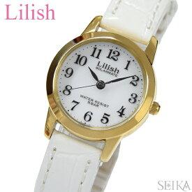【楽天スーパーSALE】シチズン CITIZEN リリッシュ LilishqH049-114 レディース 時計ソーラー ゴールド ホワイト レザー 白い腕時計 ギフト ブランドウォッチ