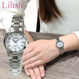 【レビューを書いて5年保証】シチズン CITIZEN リリッシュ Lilish レディース 時計【H997-900】ソーラー シルバー ホワイト 白い腕時計 フレッシャーズ