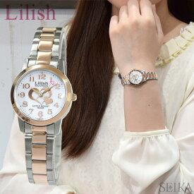 シチズン CITIZEN リリッシュ Lilish レディース 時計【H997-906】ソーラー ピンクゴールド×シルバー ピンクゴールドの腕時計