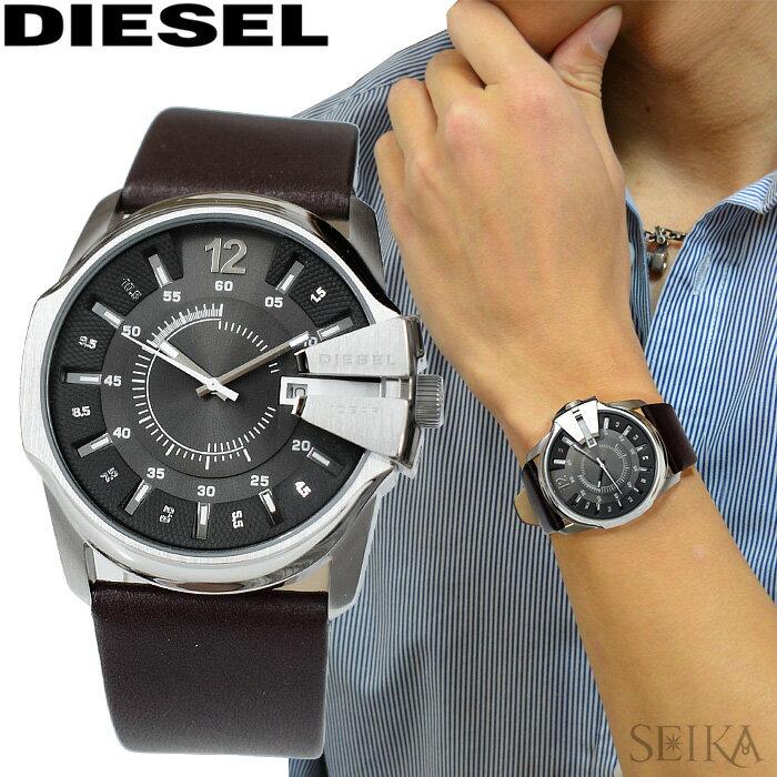 ディーゼル DIESEL マスターチーフ時計 腕時計 メンズレザー DZ1206 DZ1295 DZ1399 DZ1617 DZ1668【G2】