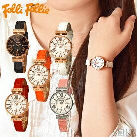 d4853a71e2 フォリフォリ Folli Follie レディース 時計 腕時計【WF13B014】ブラック ホワイト レッド ピンク オレンジ