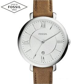 【クリアランス】フォッシル FOSSIL ES3708時計 腕時計 レディースJacqueline ジャクリーン ダークブラウン レザー ギフト ブランドウォッチ