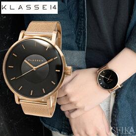 クラス14 KLASSE14 ダークローズ時計 腕時計 メンズ レディース メッシュブラック ピンクゴールド VO16RG006M(49) 42mm VO16RG006W(50) 36mm ピンクゴールドの腕時計