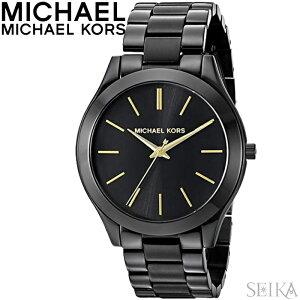 【レビューを書いて5年保証】マイケルコース MICHAEL KORS MK3221時計 腕時計 レディース ブラック いい夫婦 クリスマス プレゼント