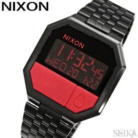 ニクソン NIXON リ・ラン A158-2945 A1582945 時計 腕時計 メンズ レディース ユニセックス ブラック レッド デジタル(D10) ギフト