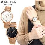 ローズフィールドROSEFIELDマーサーMercerメッシュ38mm時計腕時計レディース