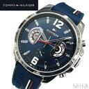 トミーヒルフィガー TOMMY HILFIGER 1791476 (200)時計 腕時計 メンズネイビー ラバー 青い腕時計 クリスマス プレゼ…