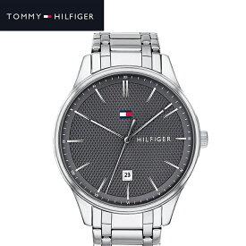 トミーヒルフィガー TOMMY HILFIGER 1791490 (205)時計 腕時計 メンズ グレー シルバー