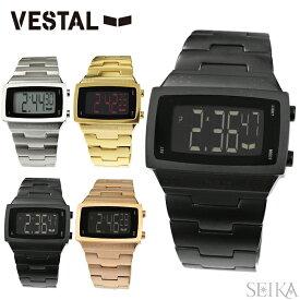 【クリアランス】ベスタル VESTAL Dolby MetalDBM001 DBM002 DBM003 DBM004時計 腕時計 メンズ メタルシルバー ゴールド ブラック ピンクゴールドデジタル スクエア サーフィン スノーボード スケート スポーツ ギフト ブランドウォッチ