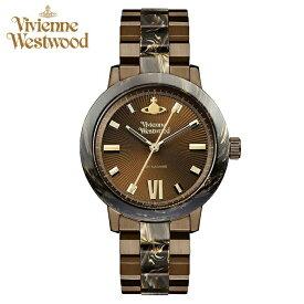 (ショップ袋プレゼント)ヴィヴィアンウエストウッド Vivienne Westwood VV165BRBR時計 腕時計 レディース ブラウン (ty4)