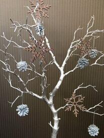 【売れています!】SNOW FLAKE★雪の結晶のオーナメントができました★木製で温かみがある雪の結晶です(^^♪【 ウッドオーナメント 冬オブジェ 木製オブジェ スノーフレーク おしゃれ オーナメント 木製オーナメント ウォールデコレーション ウォールデコ