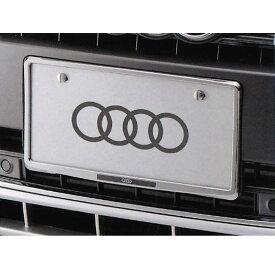 アウディ(Audi) 純正 ライセンスプレートホルダー (クローム) A1 A3 A4 A5 A6 A8 Q3 Q5 J0AEB7L01