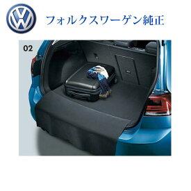 フォルクスワーゲン VW 純正 ゴルフ7 リバーシブルラゲッジマット 品番:5G0061210