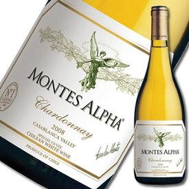 モンテス・アルファ・シャルドネ[2014]【白】【チリ】【wine】※ヴィンテージが現行ヴィンテージに変更になる場合がございます。