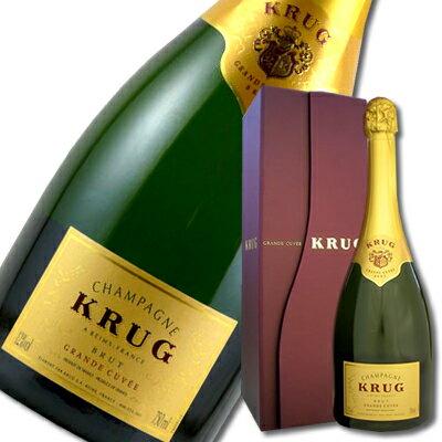 クリュッグ・グランド・キュヴェ【箱付き】【シャンパン】【シャンパーニュ】【wine】【ギフト】【お中元】【お歳暮】【父の日】