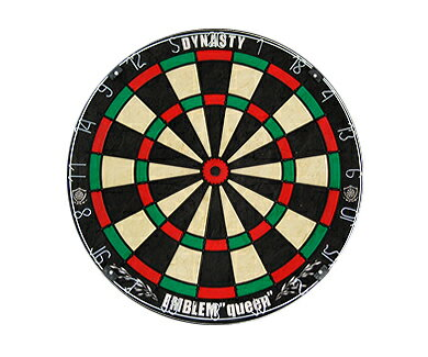 ダーツ【ダーツボード (Dartsboard)】【DYNASTY】 EMBLEM Queen(Type-K)