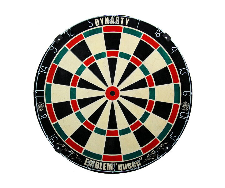 ダーツ【ダーツボード(Dartsboard)】【DYNASTY】 EMBLEM Queen WIRELESS (Type-K)