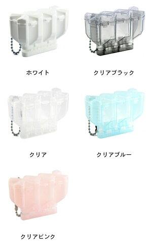 小物ケース【COSMODARTS】Fitフライト専用ケース2.5AIRクリアブラック