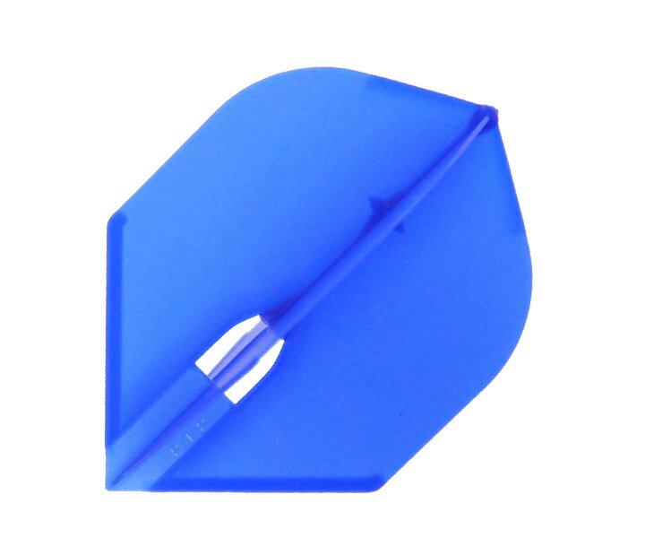 【メール便OK】ダーツ フライト【フライトエル】ロケット シャンパンリング対応 ブルー