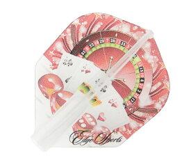 【メール便OK】ダーツ フライト【エッジスポーツ×クロスデザイン】マスターフライト カジノ