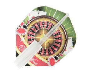 【メール便OK】ダーツ フライト【エッジスポーツ×クロスデザイン】マスターフライト カジノ2