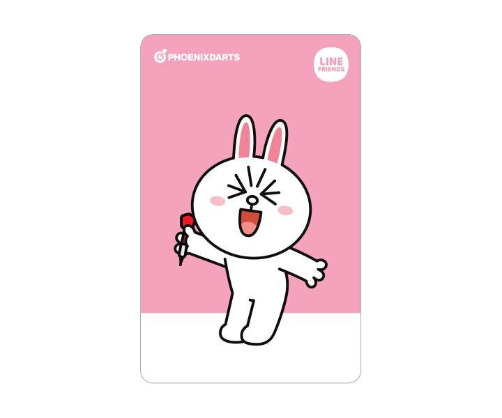 【メール便OK】ダーツ ゲームカード【フェニックス】フェニカ LINE FRIENDS コニー 2nd
