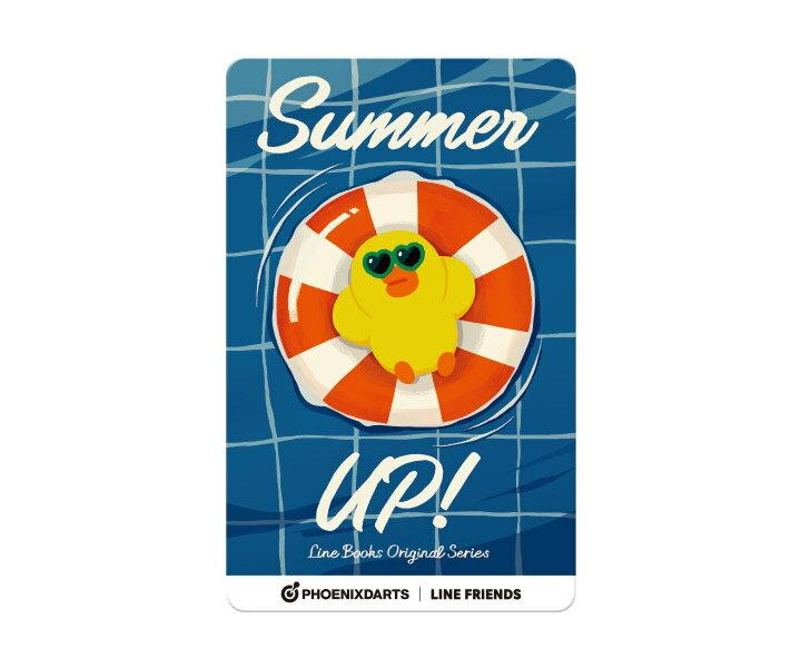【メール便OK】ダーツ ゲームカード【フェニックス】フェニカ LINE FRIENDS サマーアップ! SUMMER UP!