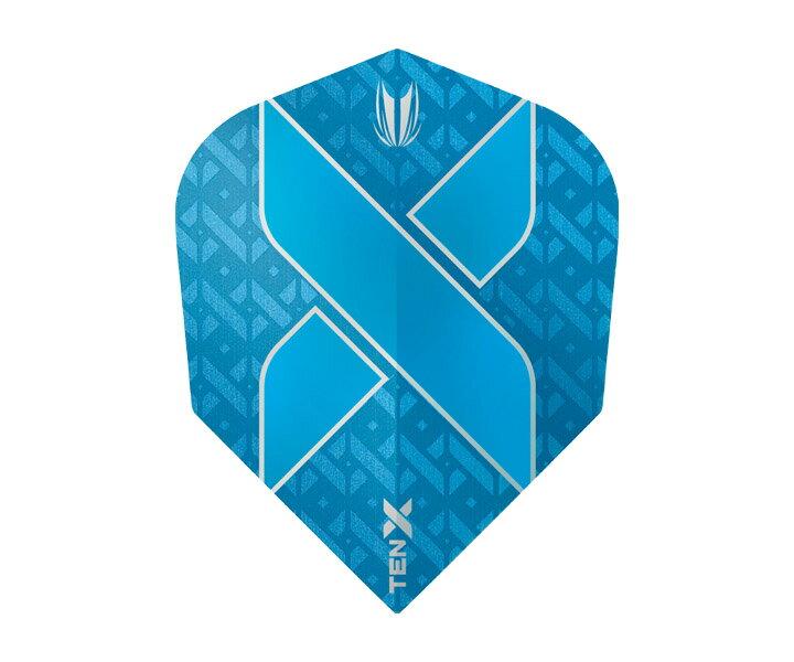 【メール便OK】ダーツ フライト【ターゲット】ヴィジョン ウルトラ TEN-X シェイプ ブルー 333470