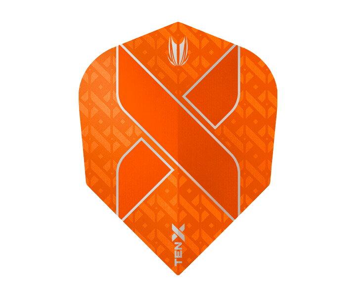 【メール便OK】ダーツ フライト【ターゲット】ヴィジョン ウルトラ TEN-X シェイプ オレンジ 333490