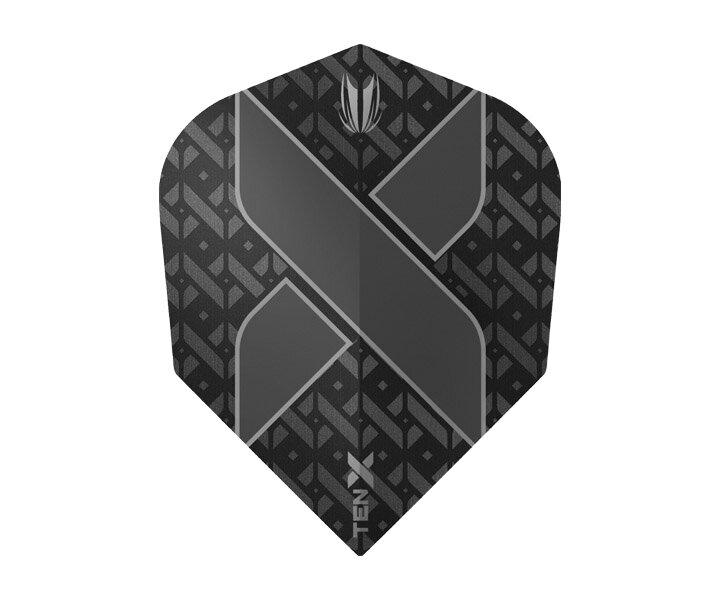 【メール便OK】ダーツ フライト【ターゲット】ヴィジョン ウルトラ TEN-X シェイプ ブラック 333520