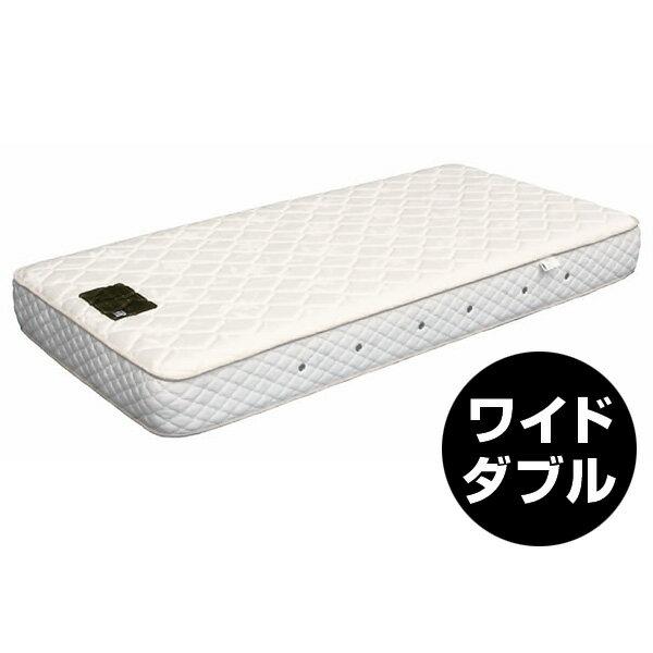 REAL Style オリジナル 日本ベッドマットレスシルキーポケットマットレス (ワイドダブル)【送料無料】【設置便込み】【代引き不可】