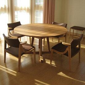 ルナ ローダイニングテーブル オーク(オイル仕上げ)LUNA Low Dining Table OAKサイズ:φ1000〜1800×H650mm
