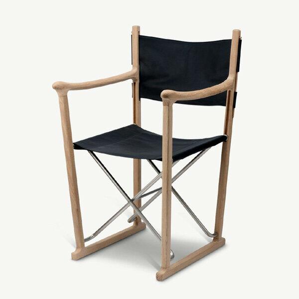 SKAGERAK(スケアラック)/ Classic Chairクラッシック チェア(オーク×ブラックレザー)W56×D60×H90cm