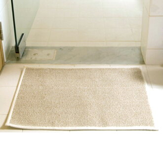 Bamboo grass Japanese paper /SASAWASHI / bath mat beige (very much)